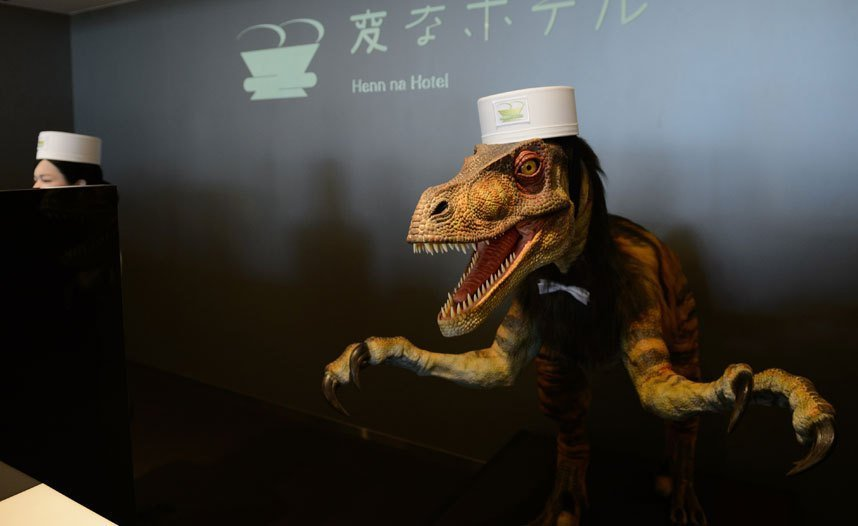 Not humans but these whacky hotels in Japan are run by robots