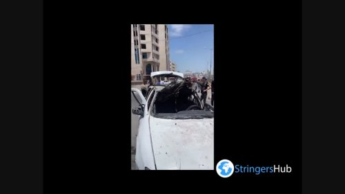 Gaza: city destroyed by Israeli bombing