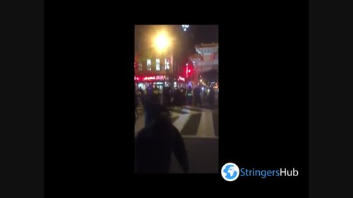 US: BLM Protesters Arrested After Clash Erupts In Downtown Washington, D.C.