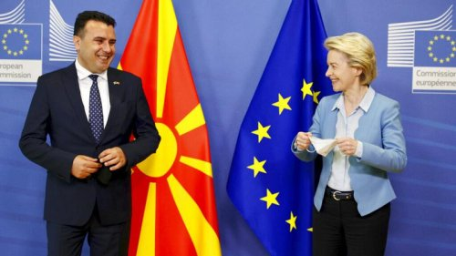 Splitting EU membership bids of North Macedonia and Albania 'not possible'