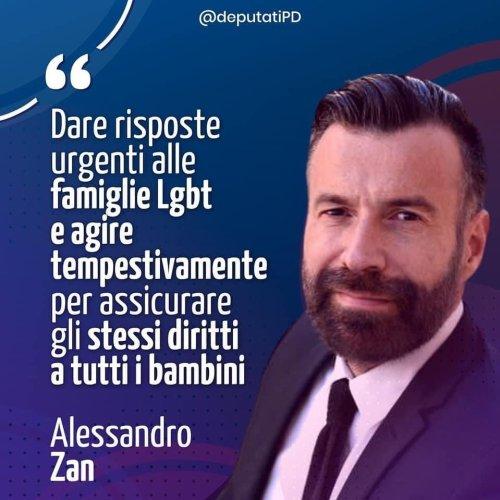 """""""Prima di fare coming out, ero agitato e impaurito"""". Caro Alessandro Zan, noi ti vogliamo bene"""