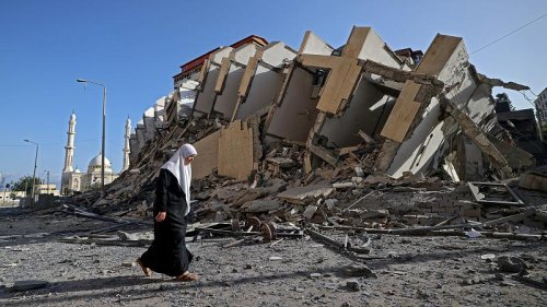 Destruction in Gaza and tension in Israel