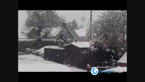UK: May snow batters in Scotland