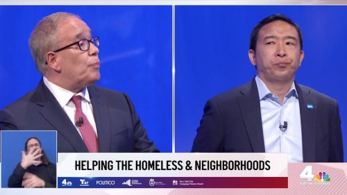 Stringer hits at Yang at NYC mayoral debate: 'You can't say 'Psych beds for all'
