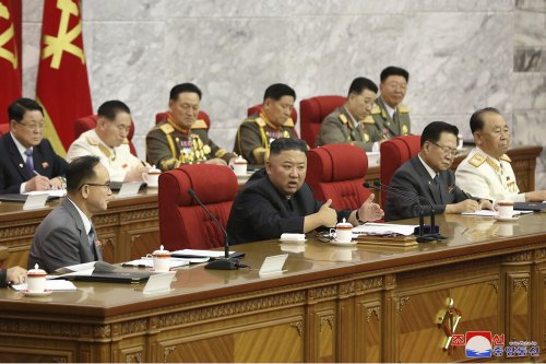North Korea's Kim vows to be ready for confrontation with US