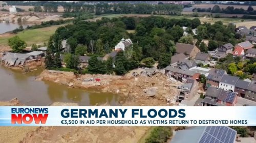 Germany flood victims distraught as the clean-up begins