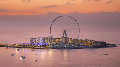 The world's largest observation wheel opens to the public on October 21st