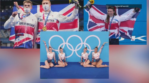 Team GB wins more medals at the Tokyo Olympics