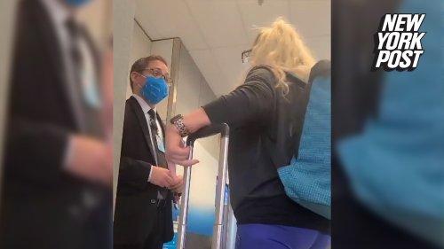 "Airport employee applauded for handling a ""Karen"""
