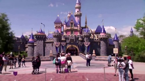 California Disneyland reopens for first time in a year