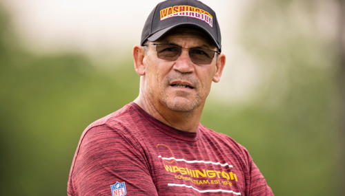 The latest curse-filled vaccine rant comes from NFL coach Ron Rivera