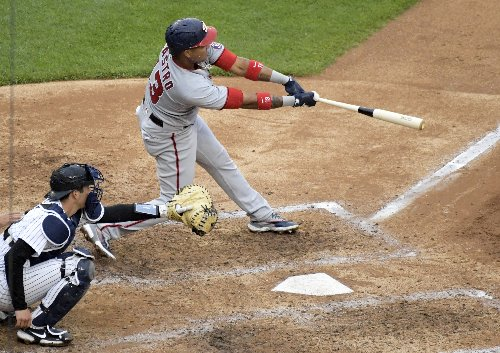 Yanks rally past Nats 4-3 in 10th, Scherzer strikes out 14