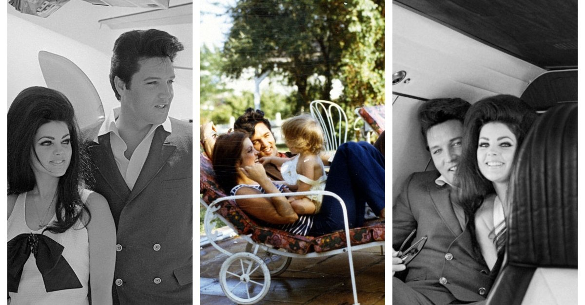 Rare intimate photos prove Elvis and Priscilla Presley were a legendary couple
