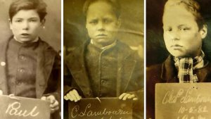 Haunting Custody Mugshots of Children Unearthed From 145 Years Ago