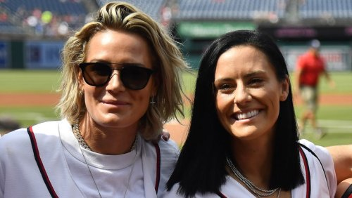 Ali Krieger and Ashlyn Harris Ready to Celebrate Their First Mother's Day