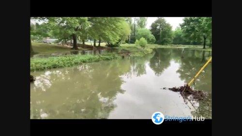 US: Heavy rains cause massive flooding across Alabama
