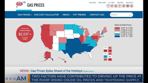 ICYMI: A surge in gas prices