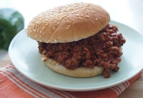 Homemade Sloppy Joes and What to Serve With Them.