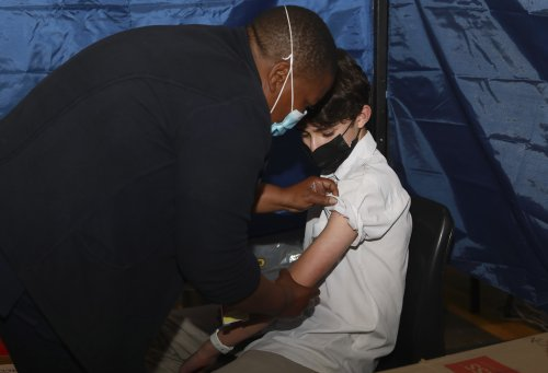 South Africa starts vaccinations for those aged 12 to 17