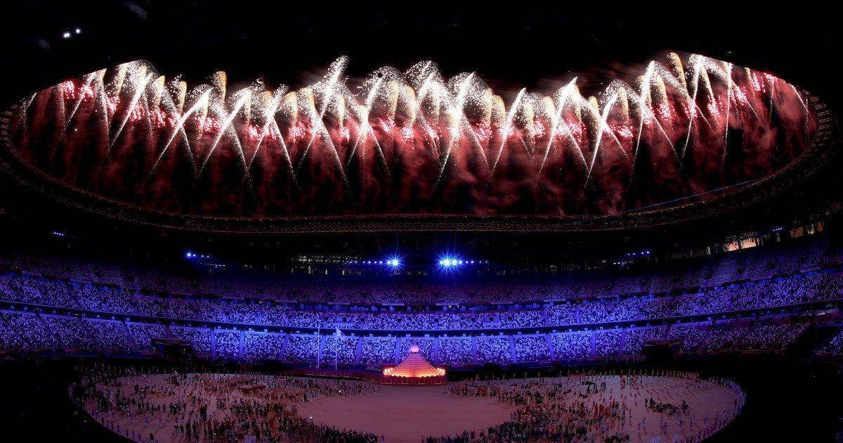 Naomi Osaka lit the Olympic cauldron signaling start to Tokyo Games