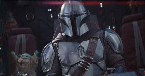 See Mark Hamill on the set of The Mandalorian for the first-ever time