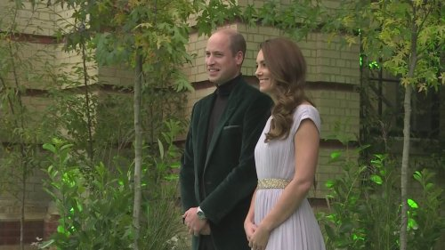 Prince William and Kate arrive at Earthshot Prize ceremony