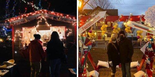 Ce marché de Noël débarque à 2 h 15 de Montréal et c'est absolument féérique