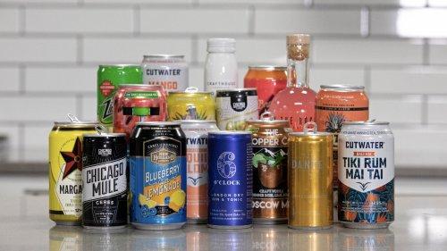 Canned cocktails taste test