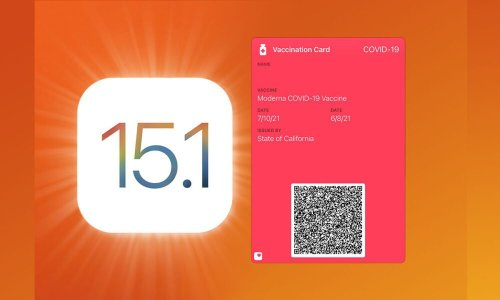 Put Proof of Vaccination ID into your Wallet with iOS 15.1