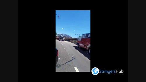US: At Least 6 Injured Due To Pedestrian Bridge Collapse In Washington D.C.