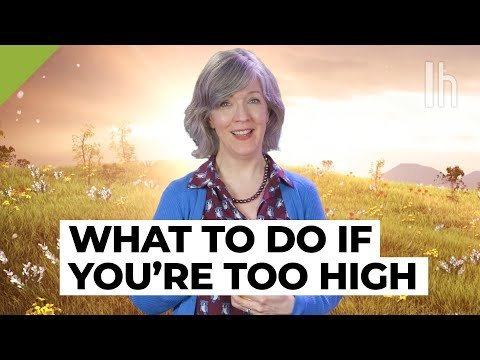 Lady explaining what to do if you get too high is the week's most soothing video