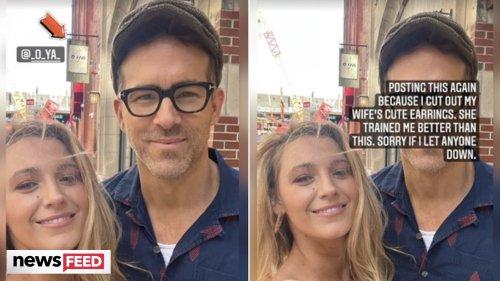 Ryan Reynolds TROLLS Blake Lively On 10-Year Date Anniversary