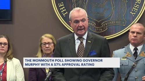 Poll finds Gov. Murphy's approval rating remains high, but 43% of voters want a new governor