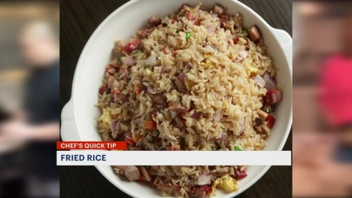 Chef's Quick Tips: chicken fried rice