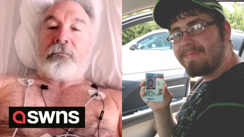 US mum meets with man who received son's heart after recognising him on TV