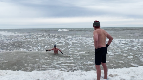 'Guy Swims in America's Deadliest Lake for a Good Cause'