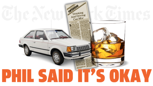 Check Out This Pro-Drunk Driving Op-Ed The NYT Published In 1984