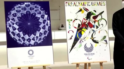 Tokyo unveils posters for Olympics and Paralympics
