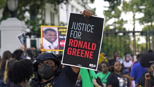 Demonstrators Call For Justice For Ronald Greene
