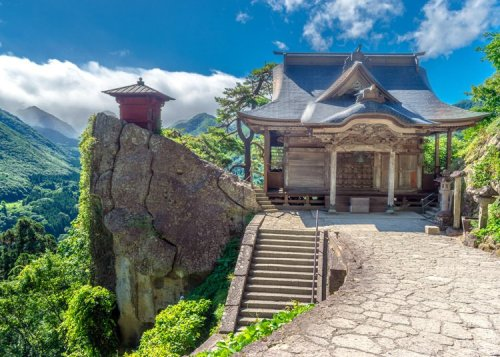 Become Whole in Japan's Marvelous Mountain-shaped Region!
