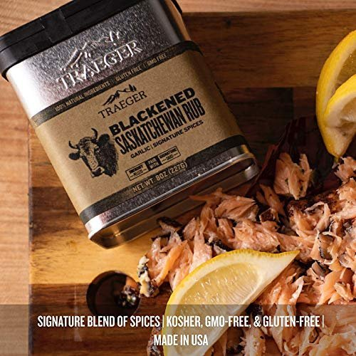 Traeger blackened Saskatchewan dry rub