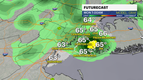 Storms set to hit NYC late Sunday into start of workweek