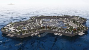 As Sea Levels Rise Floating Cities Could Be the Future of Housing