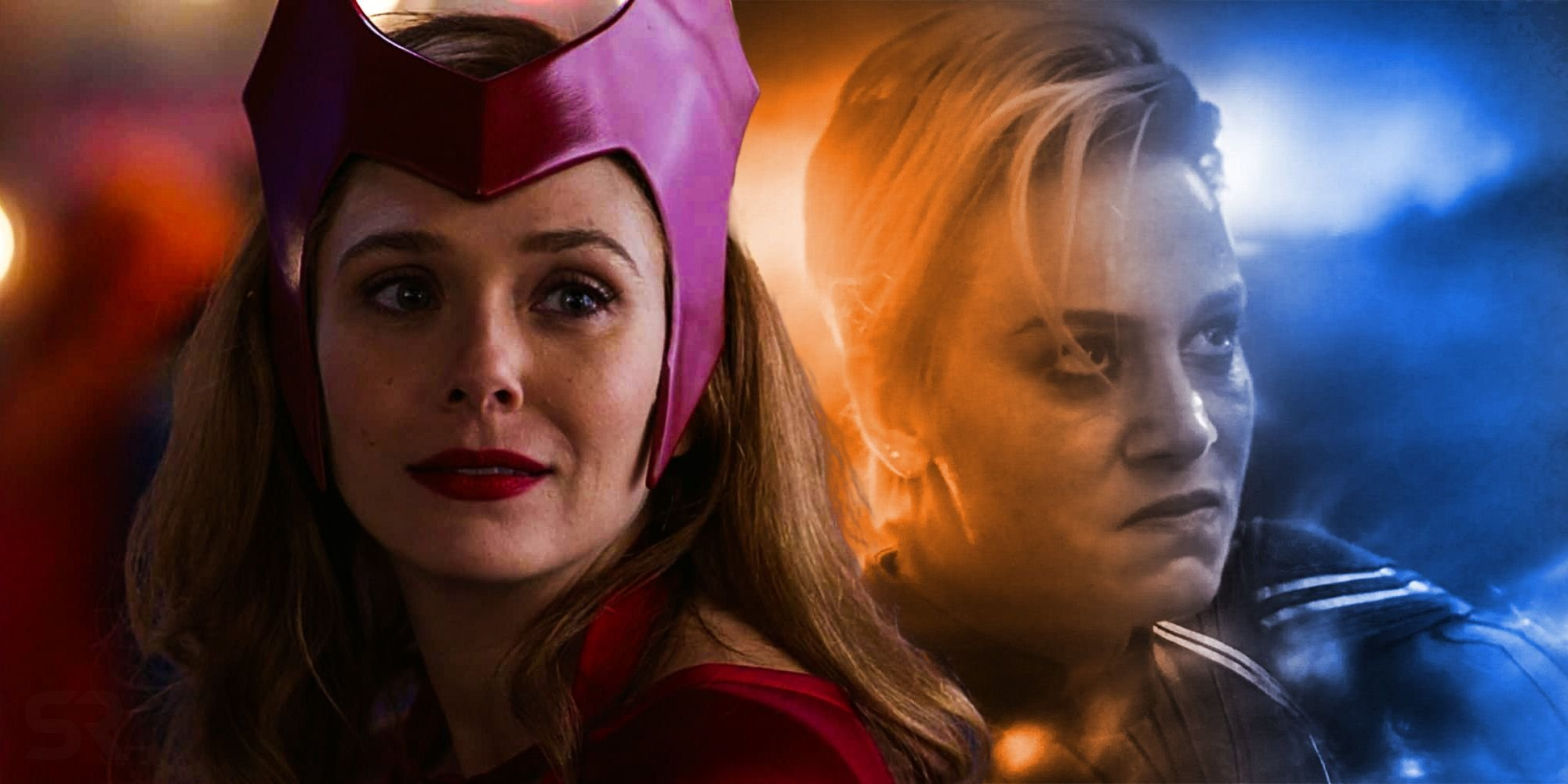 WandaVision Explained Captain Marvel's Endgame Reaction To Thanos