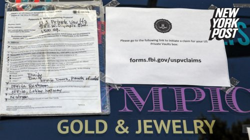 FBI aims to keep valuables, $86M cash, found in safe deposit store raid