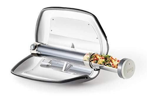 Portable solar cooker to make delicious meals while camping