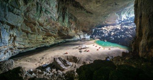A Tour Through The Rainforest Inside This Vietnem Cave