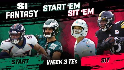 Week 3 Start 'Em or Sit 'Em: Tight Ends