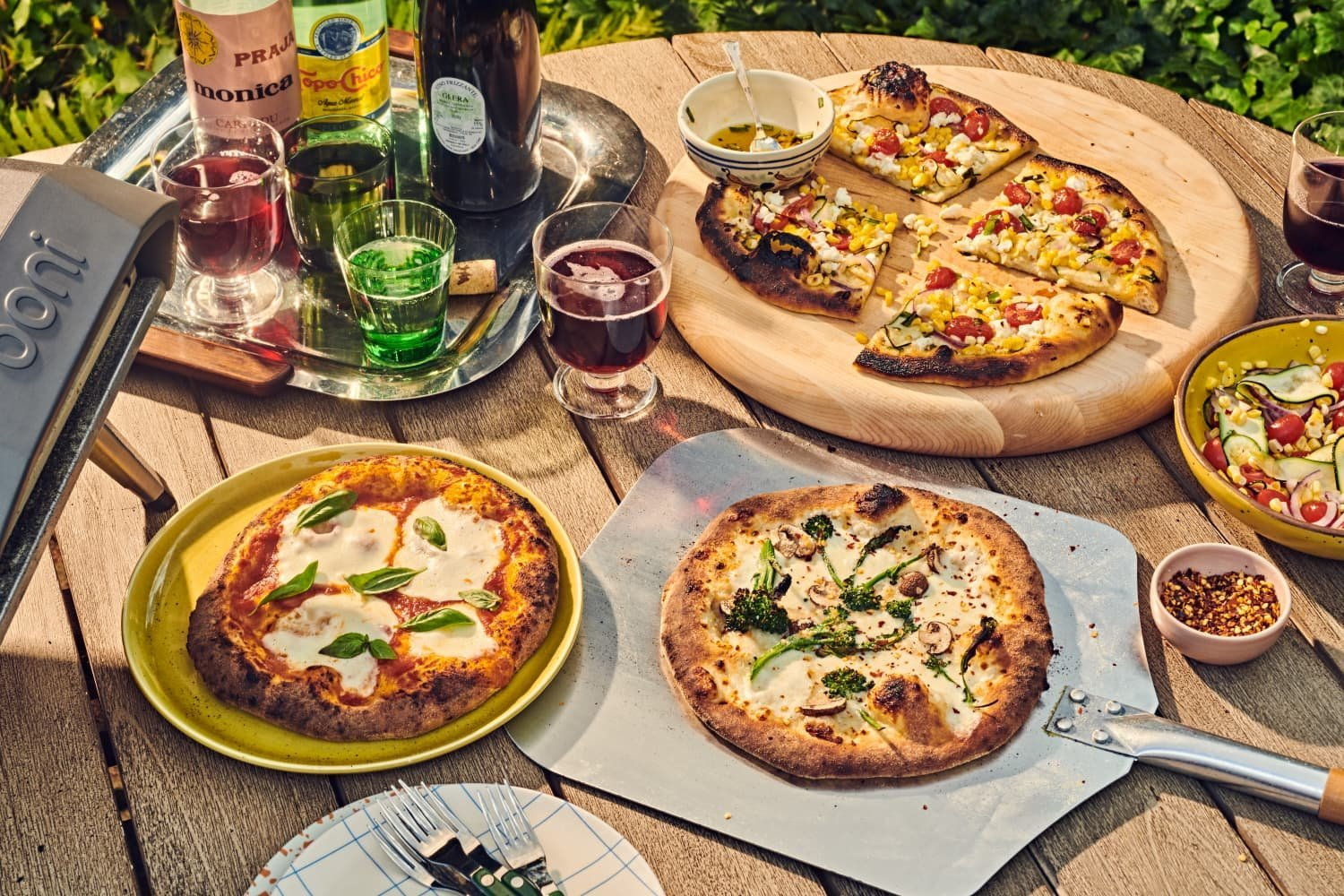 The Summer of the Outdoor Pizza Oven