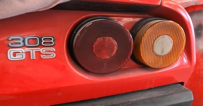 Rare Barn Find Ferrari 308 Vetroresina Has Been Untouched Since 1987
